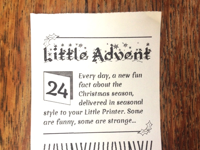 Little Advent Calendar